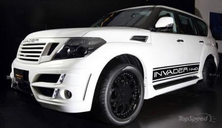Безкомпромісний Nissan Patrol Invader N40 від Invader Technologies