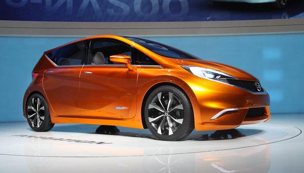 Nissan показав прототип нового Note