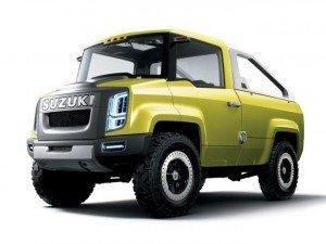 Suzuki може випустити пікап на базі моделі Jimny