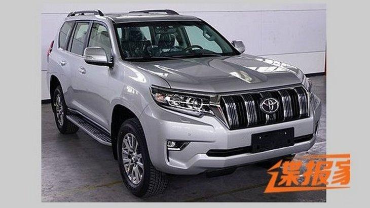 Новий Toyota Land Cruiser Prado 2018: перші фото
