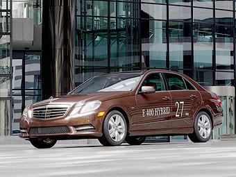 Mercedes-Benz привезе в Детройт два гібридних E-Class