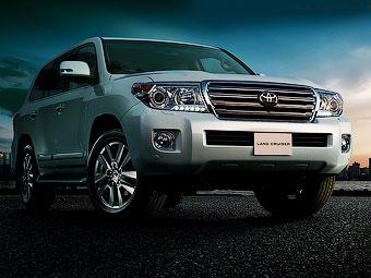 Почався продаж рестайлінгового Toyota Land Cruiser 200
