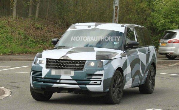 Шпигунські фото нового Range Rover