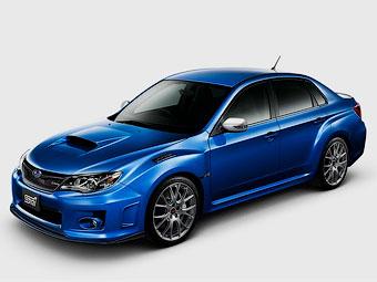 Subaru представила екстремальну Impreza WRX STI