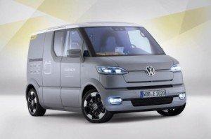 Електрофургон Volkswagen eT! Concept для листонош