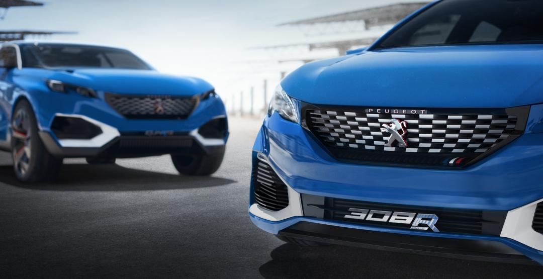 Peugeot розсекретила гібридний хетчбек 308 R Hybrid