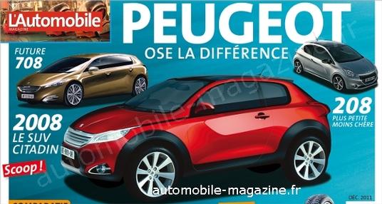 Peugeot 208 перетвориться на кросовер