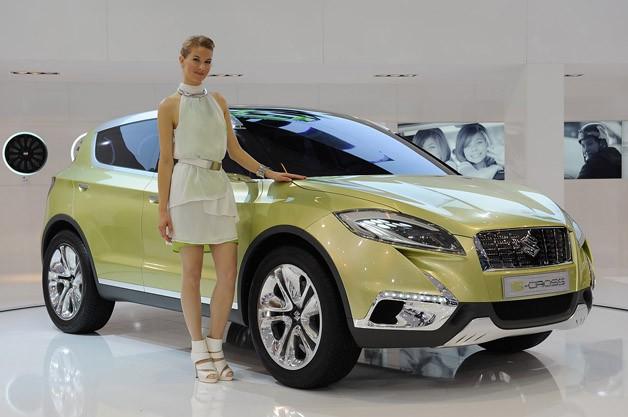 Suzuki S-Cross назвали «Кращим концепткаром»