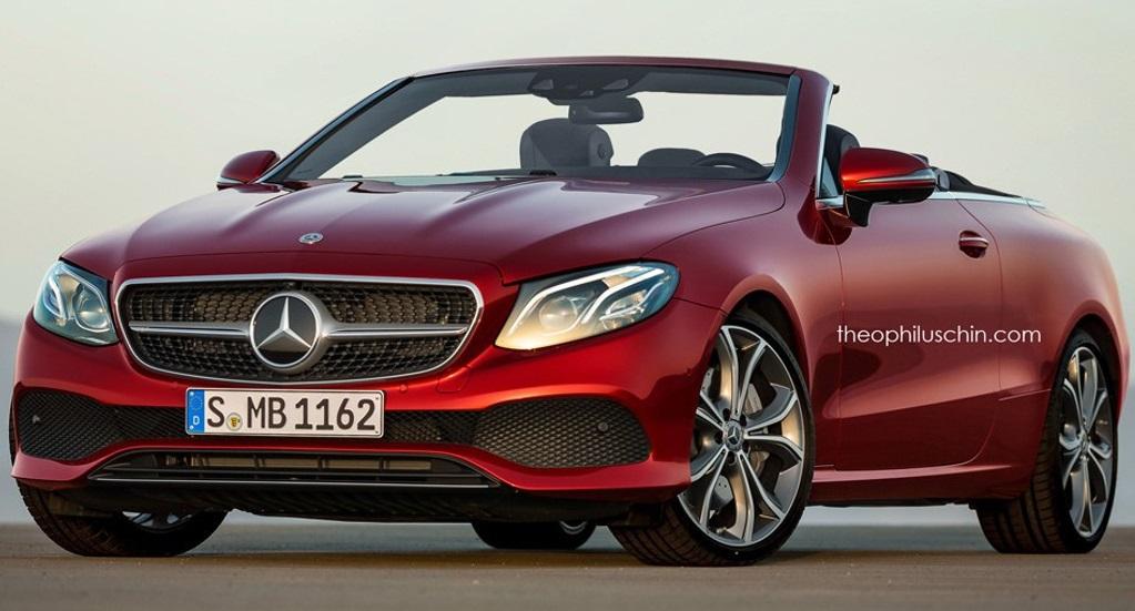 Опубліковано зображення кабріолета Mercedes-Benz E-Class 2018