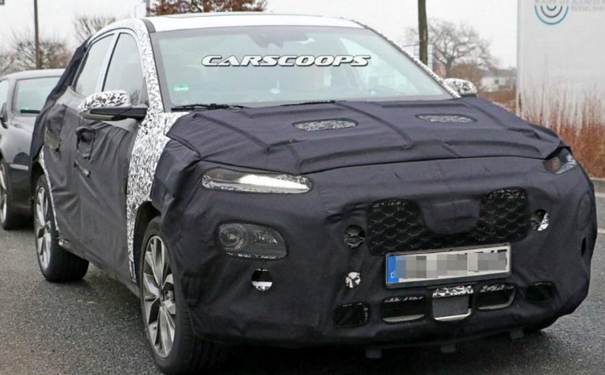 Новий SUV від Hyundai: шпигунські фото