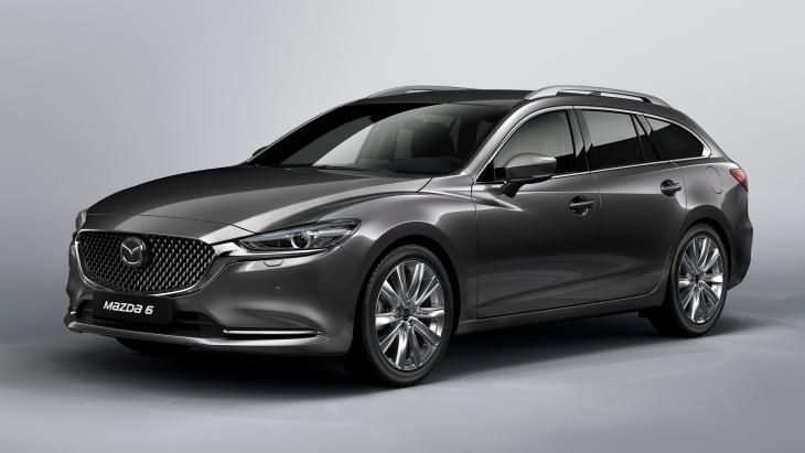 Офіційно оприлюднено оновлений «універсал» Mazda6 Wagon