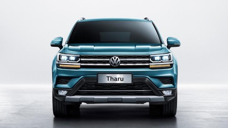 Volkswagen розсекретив бюджетний кросовер Tharu