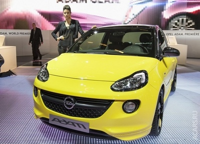 Opel Adam оцінили в 11,5 тис. євро