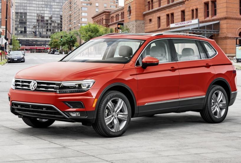 VW Tiguan 2018: що відомо про новий кросовер?