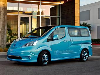 Nissan привіз в Детройт електричний компактвен