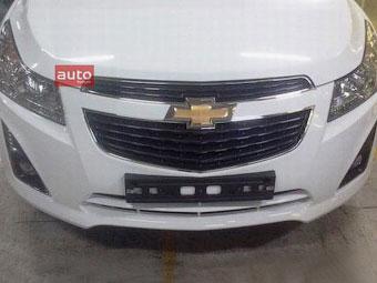 Chevrolet Cruze готується до оновлення
