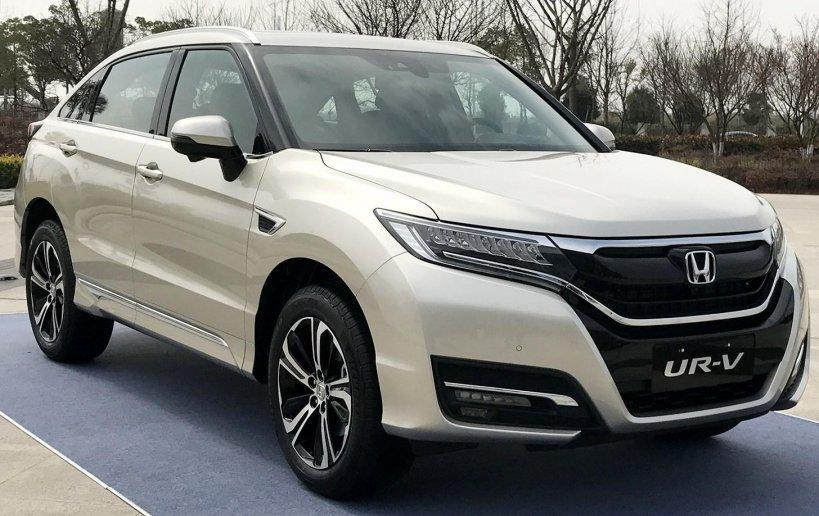 Спортивний позашляховик Honda UR-V показли офіційно