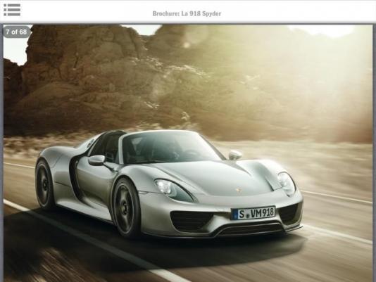 Фото Porsche 918 Spyder потрапили в мережу
