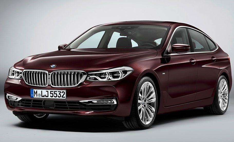 BMW 6 Series 2018: перші фото автомобіля нового покоління