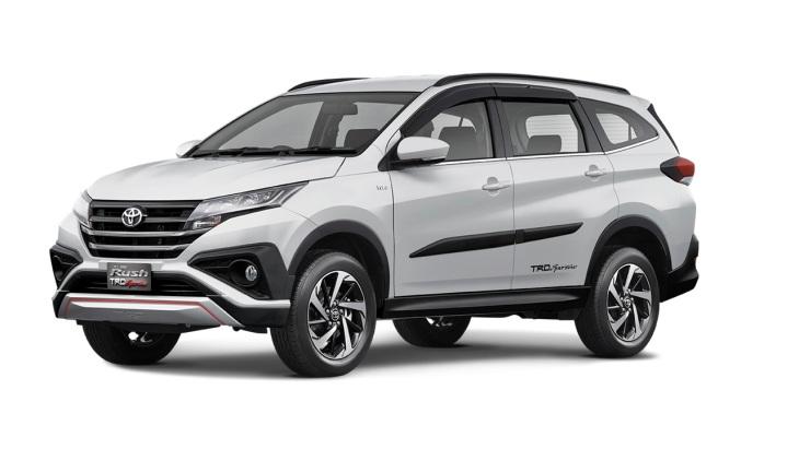 Toyota показала новий кроссовер Rush