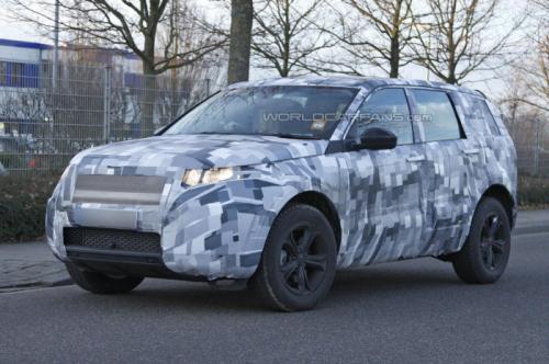 Новий Land Rover Freelander стане набагато крупніше попередника