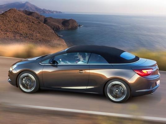 Opel розсекретив новий кабріолет Cascada