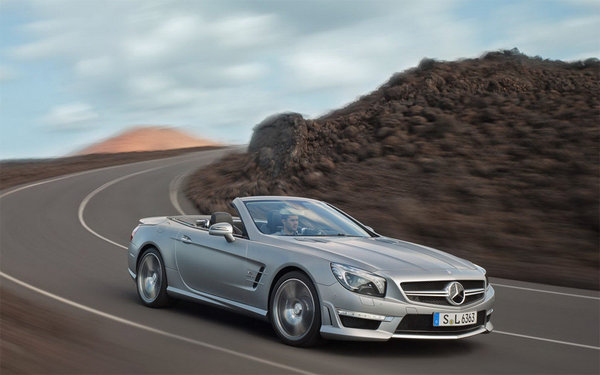 Найшвидший Mercedes SL розсекретили перед Женевою