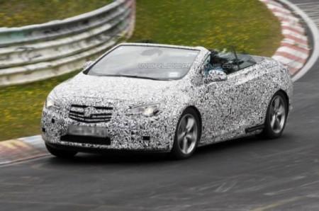 Шпигунське відео кабріолета Opel Astra 2013