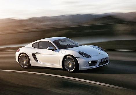 Новий Porsche Cayman став на 10