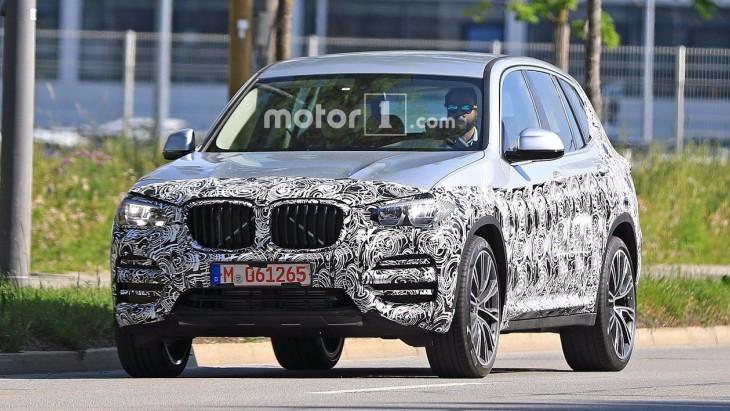Перші фото BMW X3 нового покоління