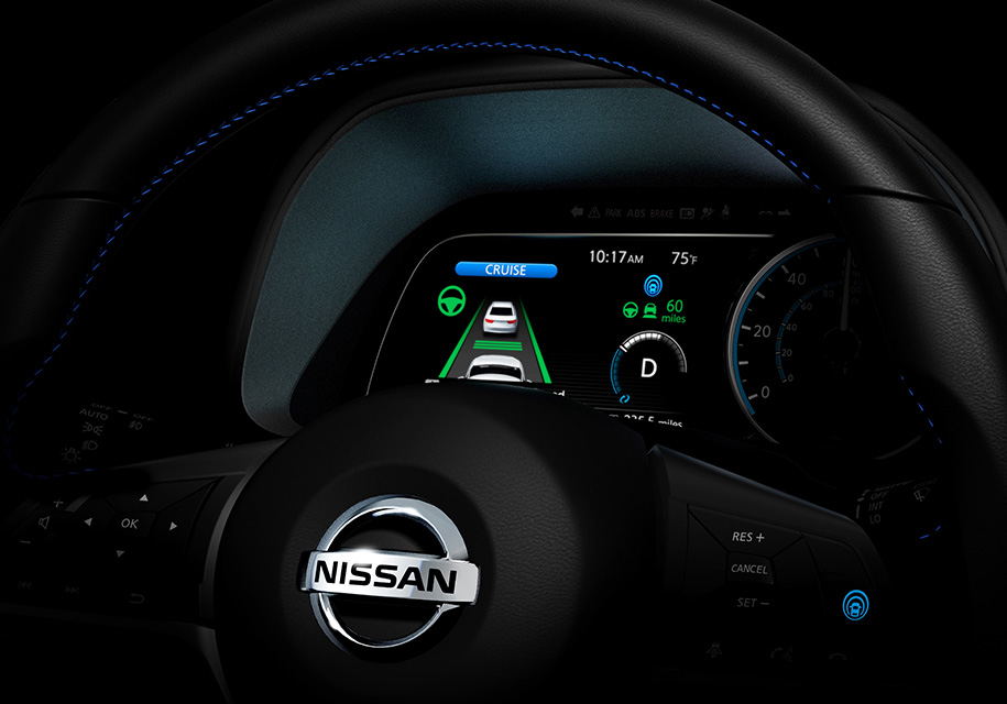 Nissan Leaf 2018: нова інформація про електромобіль