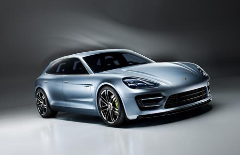 Porsche Panamera став гібридним універсалом