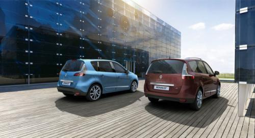 Компанія Renault оновила мінівени Scenic і Grand Scenic