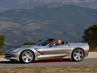 Chevrolet покаже відкриту версію нового Corvette в Женеві