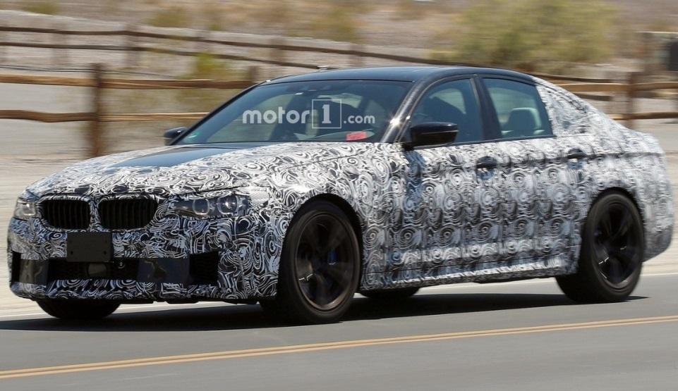 BMW 5-Series 2018: нова інформація