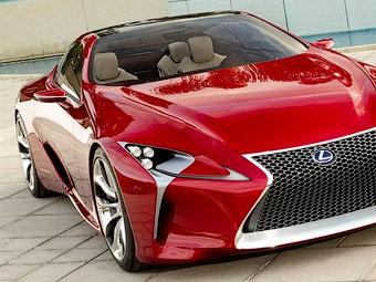 Lexus показав фотографії великого гібридного купе