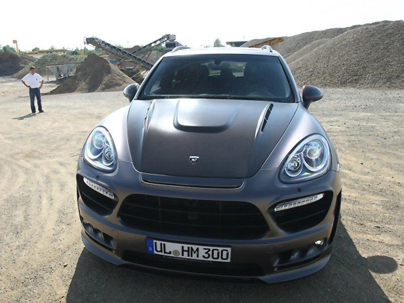 Ательє Hamann представило тюнінгований Porsche Cayenne Turbo