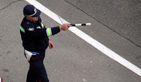 На Київщині затримали водія-втікача