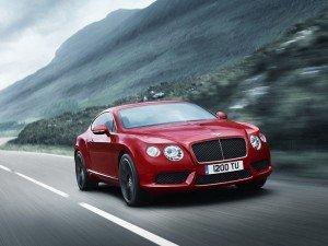 Названа початкова ціна на купе Bentley Continental GT з новим двигуном V8