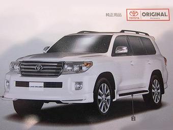 Toyota Land Cruiser готується до оновлення