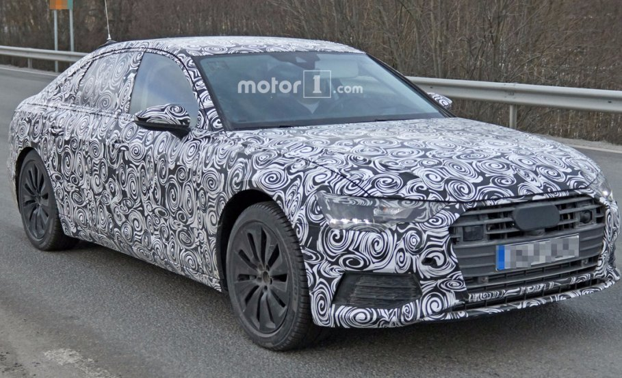 Audi A6 2018: з'явились перші зображення нового седана