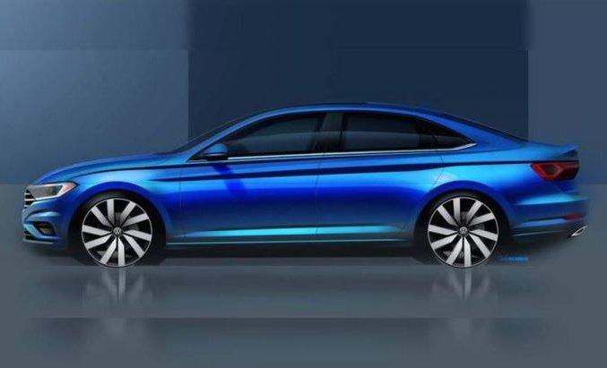 Volkswagen Jetta 2018: перше офіційне зображення