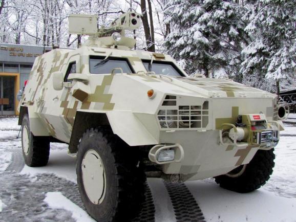 В українських бойових машин «Дозор-Б» виникли проблеми