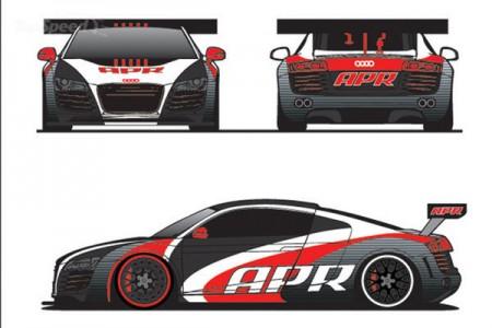 Audi R8 LMS від APR Motorsport