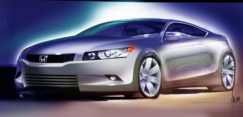 Honda розсекретила концепт нового Accord Coupe