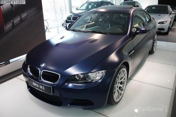 BMW M3 Frozen Dark Blue 2012