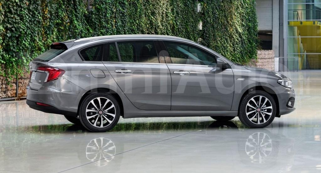 Fiat Tipo 2016: зображення нового універсалу