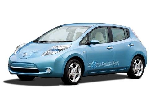 Nissan LEAF змінюється