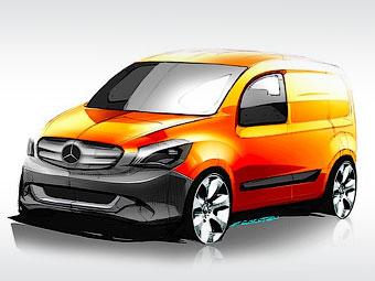 Mercedes-Benz готує до презентації компактний фургон
