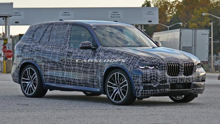 BMW X5 2018: нові фото кросовера